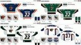 Customized Homens Mulheres Crianças Echl Utah Grizzlies 2005-2012 Hóquei no Gelo Jersey