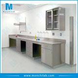 Mobilier de laboratoire anti bactérienne pour laboratoire hospitalier
