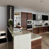 Oppein Qualitäts-Projekt Belüftung-hölzerne Korn-Küche-Möbel (OP14-PVC01)
