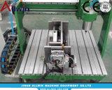 Mini de escritorio 5 máquina de corte rebajadora CNC de ejes
