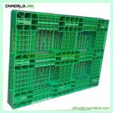 Pallet laterale di plastica durevole del carrello elevatore singolo con il formato differente