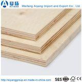 Placage artificiel face contreplaqué de bois de feuillus de noyau commercial