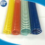 Tubo flessibile a spirale ad alta pressione del tubo di scarico di consegna di aspirazione dell'olio dell'acqua dell'elica del PVC