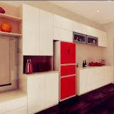 De aangepaste Moderne Modulaire Hout en Deur van de Keukenkast van pvc