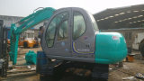 Usada Kobelco SK60 Excavator-New-Green-Repaint Hidráulico do Trator de Esteiras - Cabine Easy-Maintenance Available-Comfortable Mini-6ton
