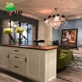 Aglomerado de madeira pintada de branco/Madeira contraplacada melamina porta giratória montada roupeiro/Closet/Cabinet