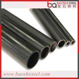 Tubo de acero en frío venta caliente de la sección hueco redonda negra