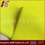75D sólido amarelo fluorescente de polietileno tingida Machacial Softshell tecido stretch