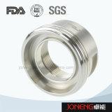 Adaptador roscado de reducción higiénico del tubo del acero inoxidable (JN-FL1010)