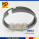 6wg1 Isuzu Engine Set Piston Ring for Excavator Parts with Cast Iron (1-12121-143-0)