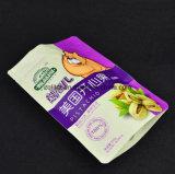 Customziedの印刷は3つの層がジッパーが付いている軽食のパッケージのための直立したポリ袋を薄板にしたジッパーの袋を立てる