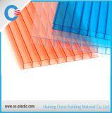parete del gemello del policarbonato di 8mm e di 6mm per il lucernario del tetto della serra