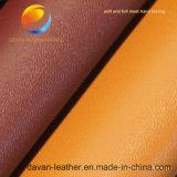 Nettes schauendes synthetisches PU-Leder für Kleid mit geprägter Oberfläche