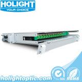 Painel de correção de programa ODF da fibra óptica de 12 portas para o uso interno