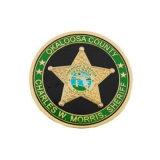 Oferta promocional personalizado Medalha da Polícia Textura Vector DO REINO UNIDO valentes vencedor