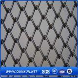 Maglia del diamante della maglia del metallo di qualità del rifornimento della fabbrica della Cina migliore che recinta sulla vendita