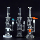 Fantastic Accent Oil Rig Animal Perc Glass Water Pipe
