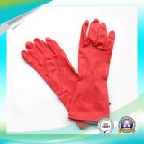 Luvas de trabalho do anti ácido do látex para o material de lavagem com alta qualidade