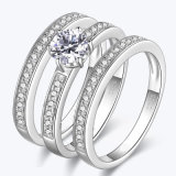 다이아몬드 결혼 반지3 에서 1 은