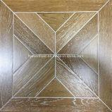 Fio de arte da engenharia de Carvalho escovado piso em parquet