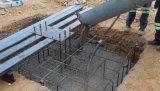 マルチスパンの鉄骨構造の建物フレーム