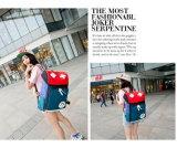 Da personalidade coreana ocasional da forma do saco da trouxa dos homens e das mulheres saco fresco novo do Satchel da lona