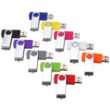 La impulsión de encargo del flash del USB del eslabón giratorio del precio más barato para la promoción