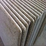 Bianco/colore giallo/parti superiori grige di vanità del granito/parti superiori del lavoro/parti superiori della cucina