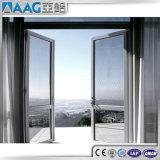 Окно и дверь Casement двойной застеклять алюминиевые