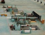 Línea automática cita de Rewinder de la cortadora de la lámina pesada de la máquina
