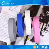 O bracelete impermeável do Wristband de RFID projeta o Wristband NFC