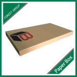 주문 인쇄 브라운 물결 모양 책 우송자 상자