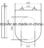 Cubierta de cerámica del tocador U Forma Duroplast Material Xiamen Facotry