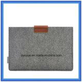 """Neue fördernde echtes Leder-Laptop-Hülse der Wolle-Felt+ mit Mäusebeutel für Luft die Apple-MacBook PRO, PROretina 13.3 """""""