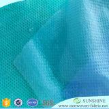 Tela no tejida hidrofílica en popular, materia textil de Spunbonded