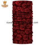 Weihnachtsschal-schöne strickende Rosen-Blume RöhrenHeadwear