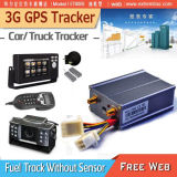 3G GPS Car Tracker 3G автомобиль GPS Tracker топливного датчика температуры монитор