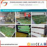 WPC PVC 대리석 장 단면도 생산 라인