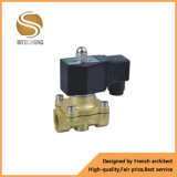 Válvula solenoide de agua neumática de control de flujo de alta presión