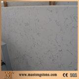 Сляб камня кварца Carrara белый