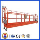 Plataforma de trabalho em alumínio de alumínio customizada Sistemas de andaimes de suspensão