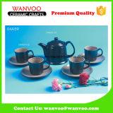 4PCS de ceramische Reeks van de Koffie van de Thee van Kop en Schotel