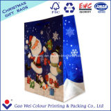 Изготовленный на заказ мешки мешков покупкы подарка печатание рециркулированные высоким качеством упаковывая бумажные