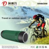 Wasserdichtes Fahrrad drahtloser Bluetooth Lautsprecher mit Energienbank und LED-Licht