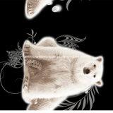 100%Polyester полярный медведь Pigment&Disperse напечатал ткань для комплекта постельных принадлежностей