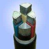 3 le faisceau XLPE a isolé le câble d'alimentation en aluminium engainé par PE blindé en acier de bande