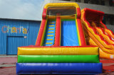 18 pies de alta mejor diapositiva inflable seca del PVC para los niños
