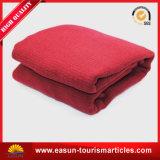 航空会社およびホテルのロゴの昇進のギフトの羊毛毛布