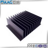 6063-T5 анодированный алюминиевый радиатор радиатор