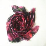 Coton de 2017 Flourish - Madame d'imitation Scarf (HWBPS452) d'étole/polyester